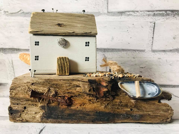 Handmade Driftwood Sculpture By The SeaSalt Shed  S171BM43