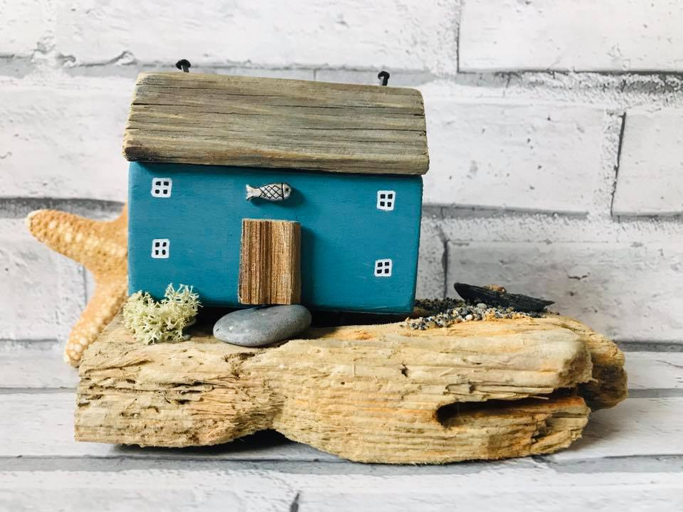 Handmade Driftwood Sculpture By The SeaSalt Shed  S171BM45