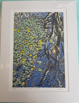 Limited Edition Lino Print By Alexandra Buckle S180AB14