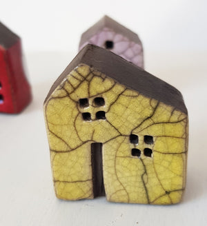 Raku Ceramic House by Andy Urwin S154AD23