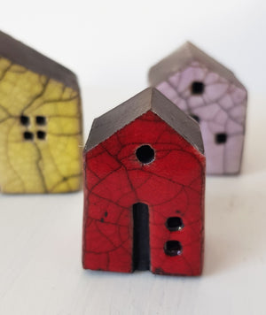 Raku Ceramic House by Andy Urwin S154AD28