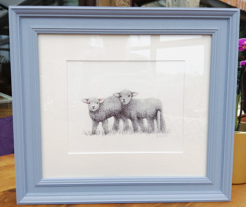 Framed Original By Claire Simpson S198CS1
