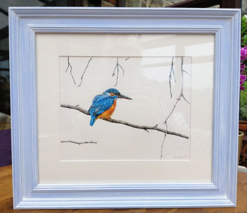 Framed Original By Claire Simpson S198CS2