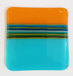 Glass Coaster by David Pascoe S103DP153