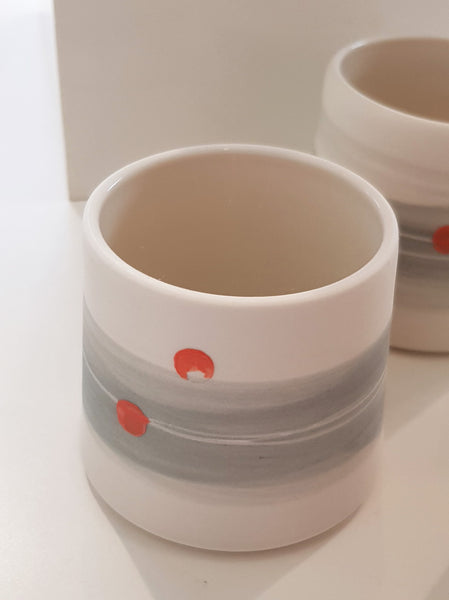 Ceramic Beaker By Eleanor Crane S165EC19