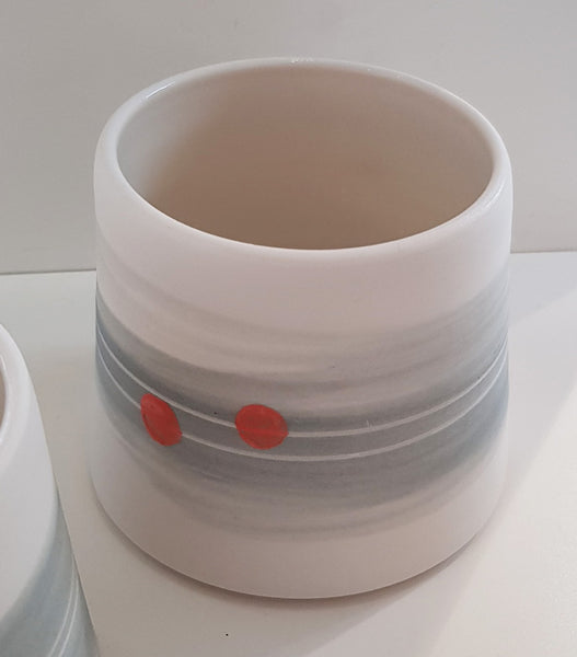 Ceramic Beaker By Eleanor Crane S165EC2