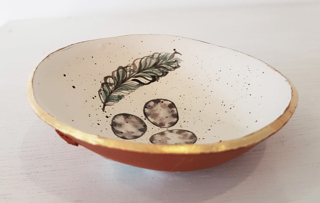 Handmade Ceramic Bowl by Jo Luckstead S48JL97