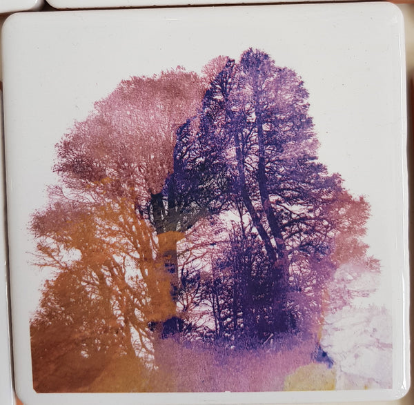 Ceramic Coaster By Justine Nettleton S55JN115