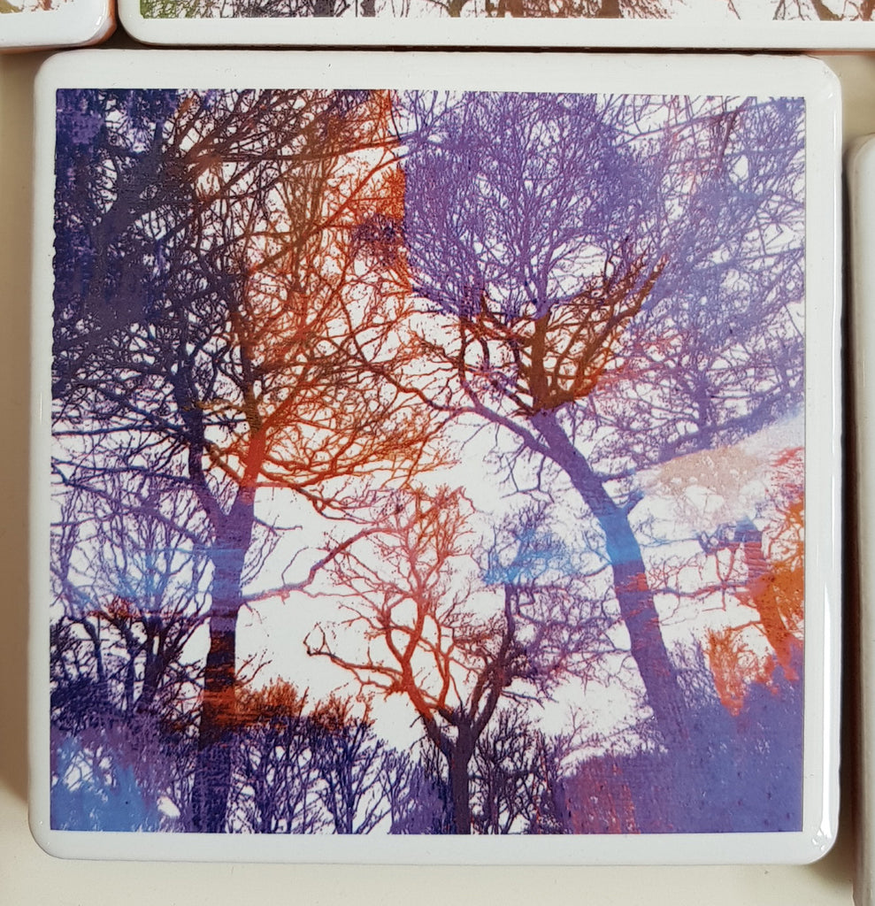 Ceramic Coaster By Justine Nettleton S55JN116