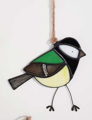 Stained Glass Bird by Jenny Newall S209JN17
