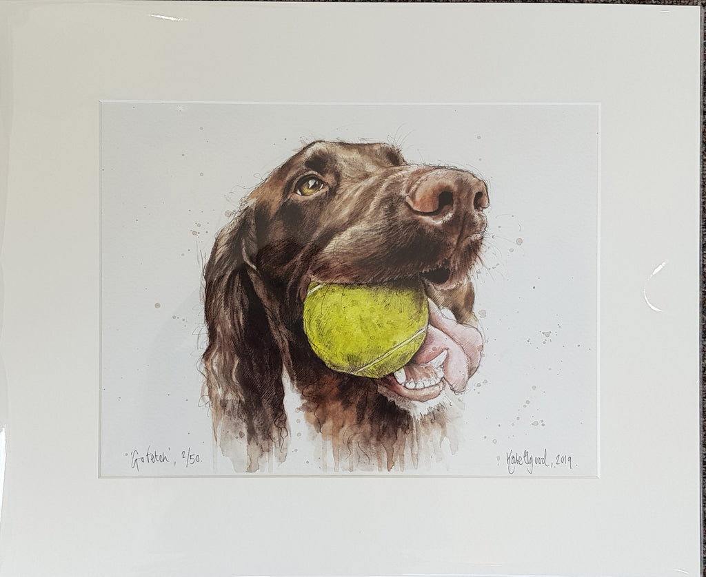 Limited Edition Print By Kate Elgood S196KE27