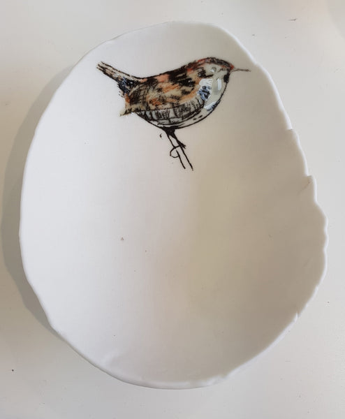 Ceramic Wren bowl by Martha's Grandad S97LJ5