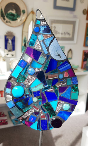 Handmade Mosaics by Mosaic Happy S205DJ12