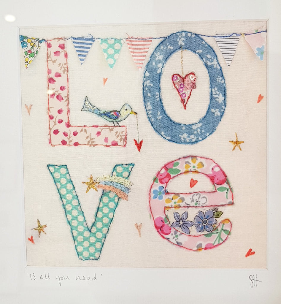 Free Motion Embroidery Picture By Suzanne Hooson S145SH14