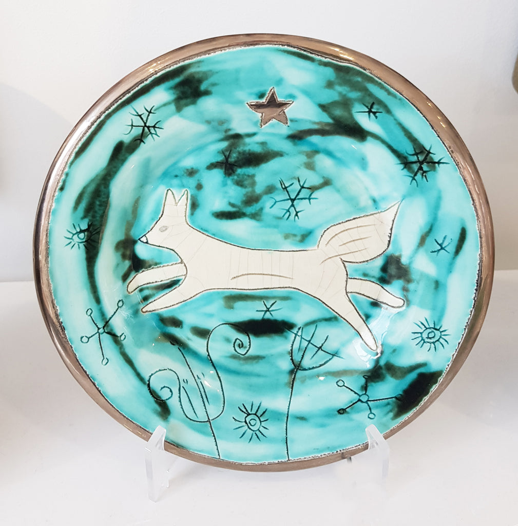 Handmade Ceramic plate by Sophie Smith S38SS203
