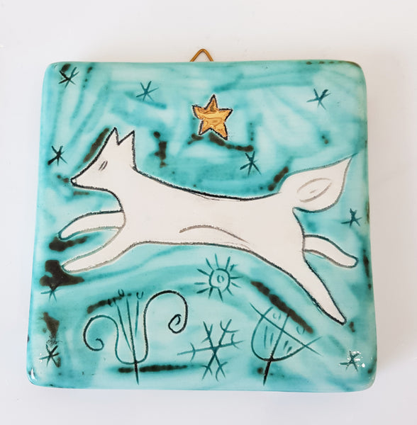 Handmade Ceramic Tile by Sophie Smith S38SS207