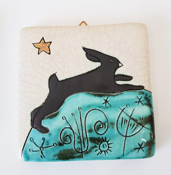 Handmade Ceramic Tile by Sophie Smith S38SS208