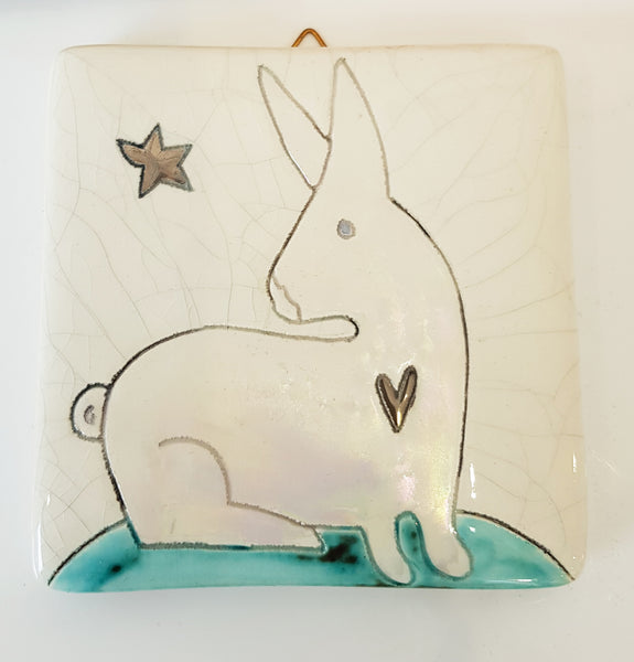 Handmade Ceramic Tile by Sophie Smith S38SS211