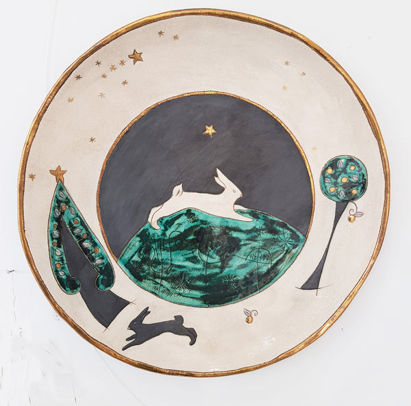 Handmade Ceramic Platter by Sophie Smith S38SS212