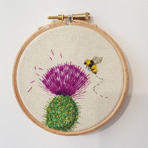 Original Embroidery By Jo Sinclair