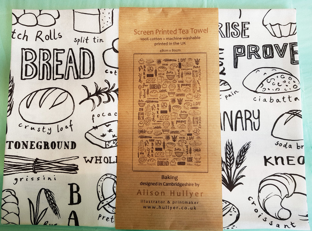 Screen Print Tea Towel By Alison Hullyer S52AH103