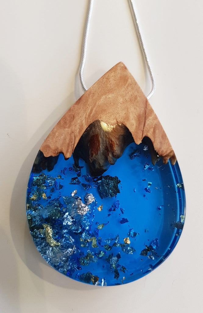 Handmade Resin and Wood Jewellery By Artful Resin S173AR7
