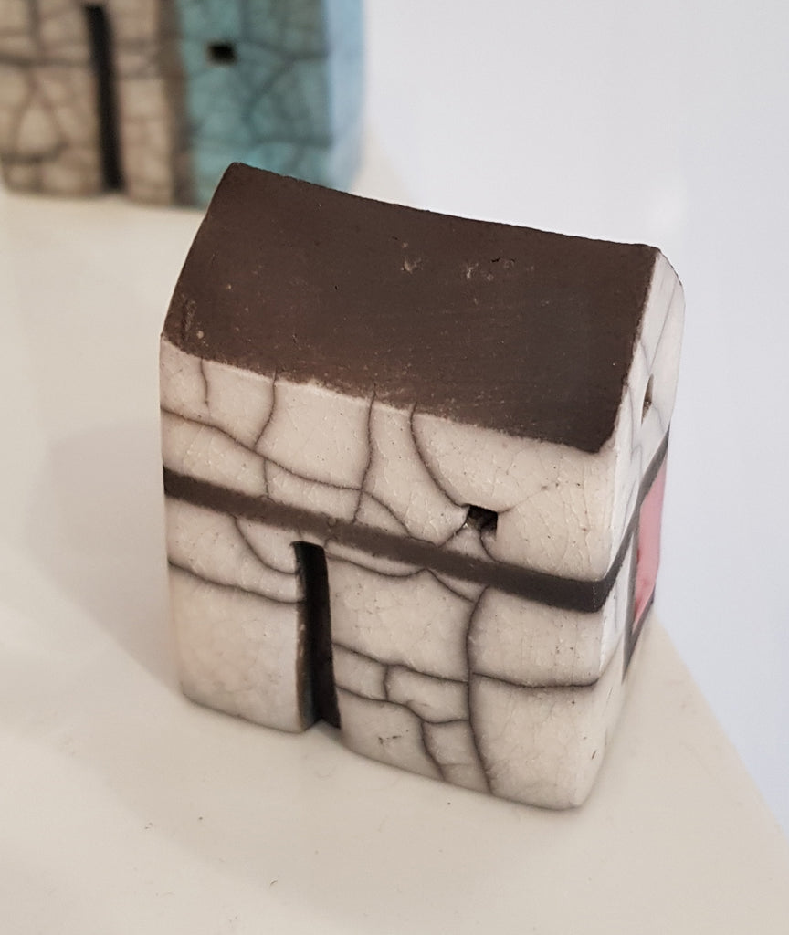 Raku Ceramic House by Andy Urwin S154AU41