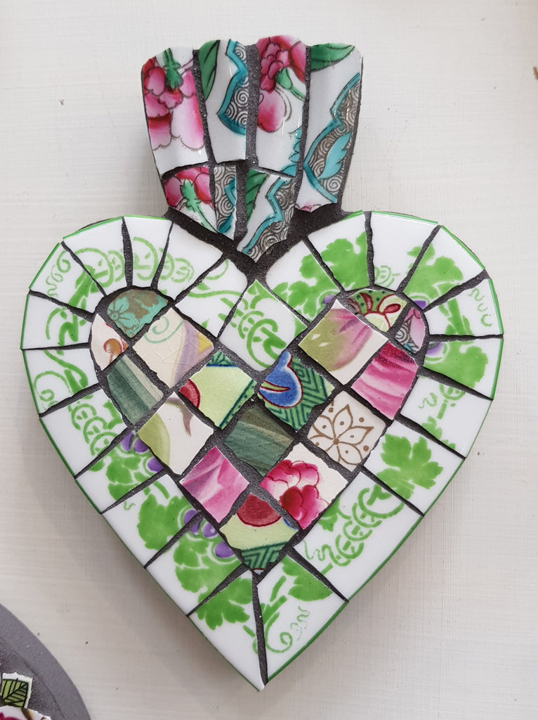 Handmade Mosaic By Box Of Frogs S151BOF33