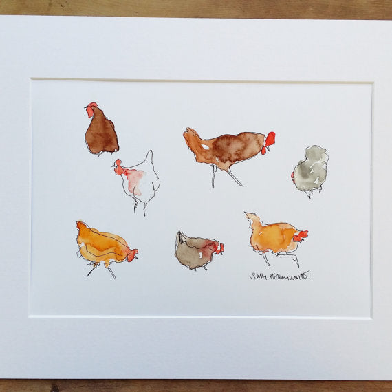 Open Edition Print by Sally Hollingworth S131SH5