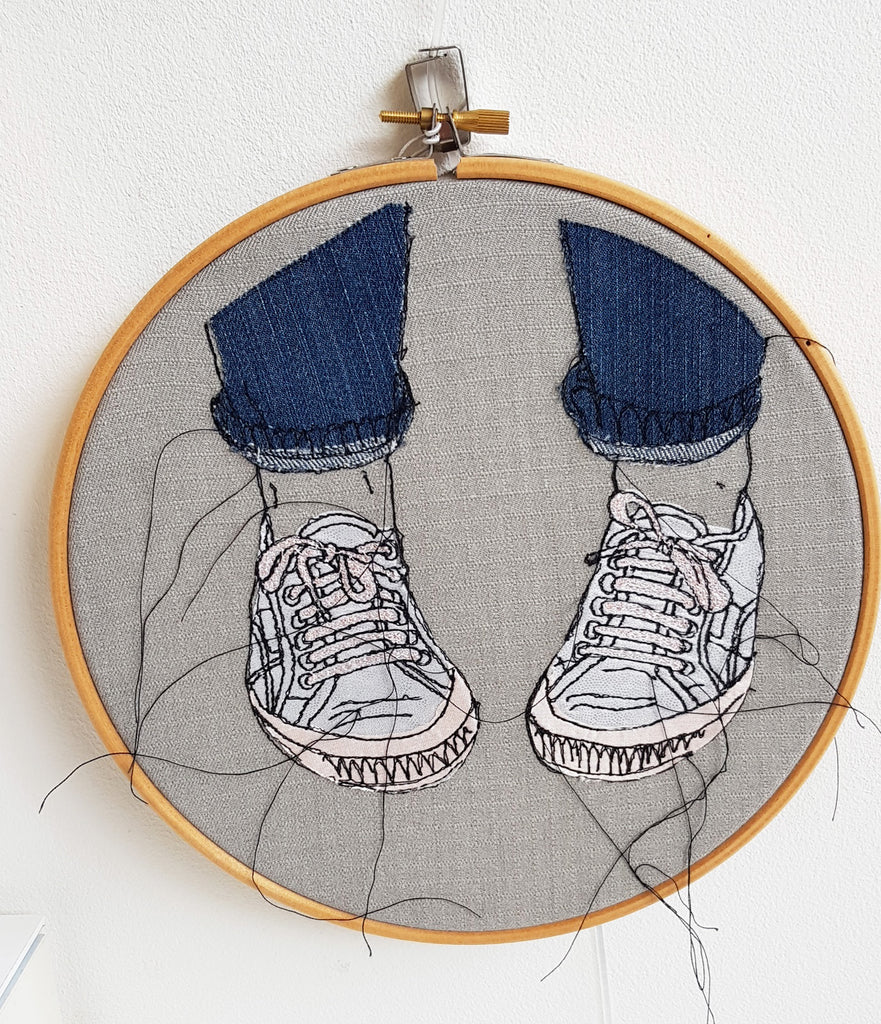 Free Motion Embroidery Hoop By Caroline Kirton S128CK6