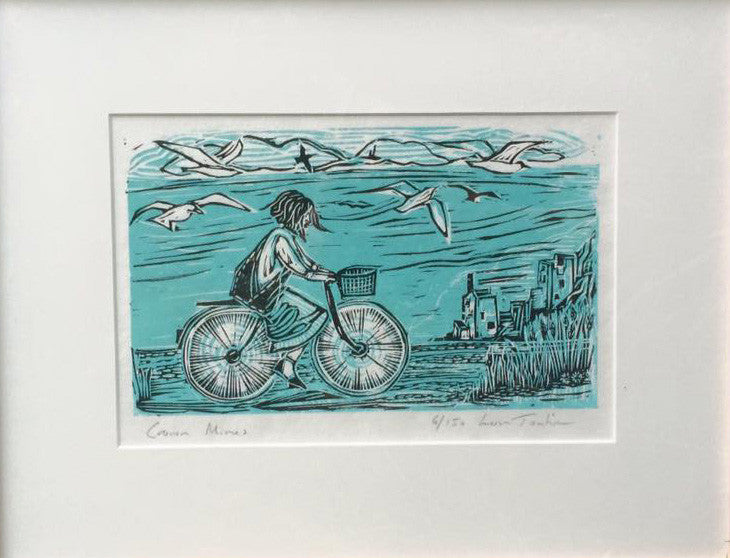 Limited Edition Original Lino Print By Lou Tonkin S106LT15
