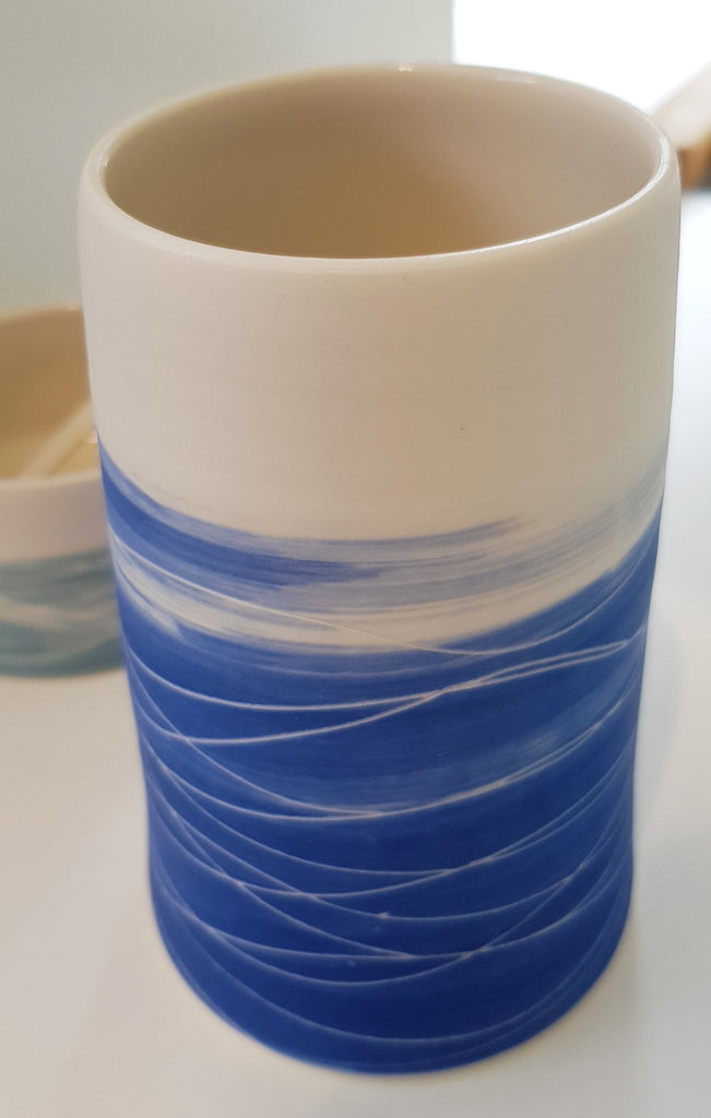 Ceramic Vase By Eleanor Crane S165EC12