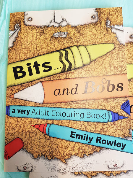 A Very Adult Colouring Book By Emily Rowley