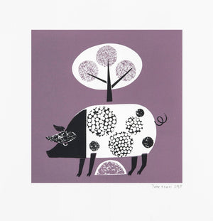 Jane Ormes Original Limited Edition Screen Print S84JO7