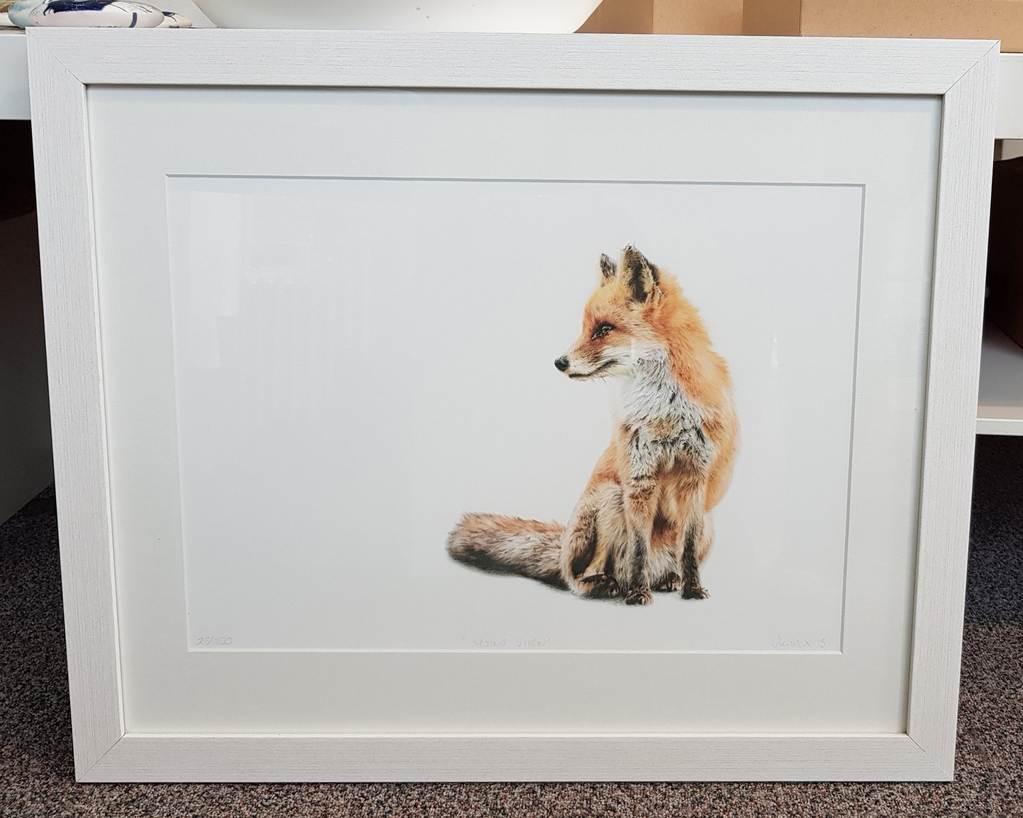 Framed Limited Edition Print By Jessica Lennox S74JL58