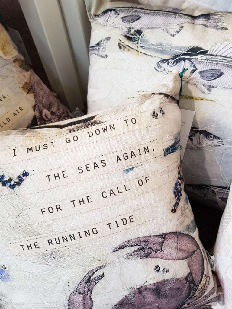 Textile Cushion By Isobel Alice S122IA11