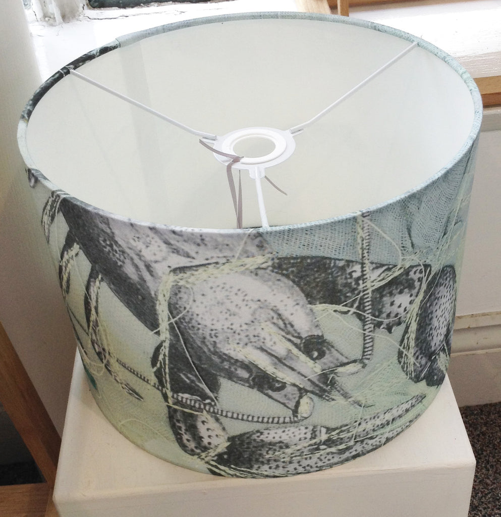 Textile Lampshade By Isobel Alice