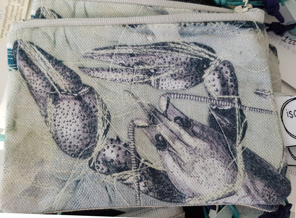 Textile Coin Purse By Isobel Alice S122IA17