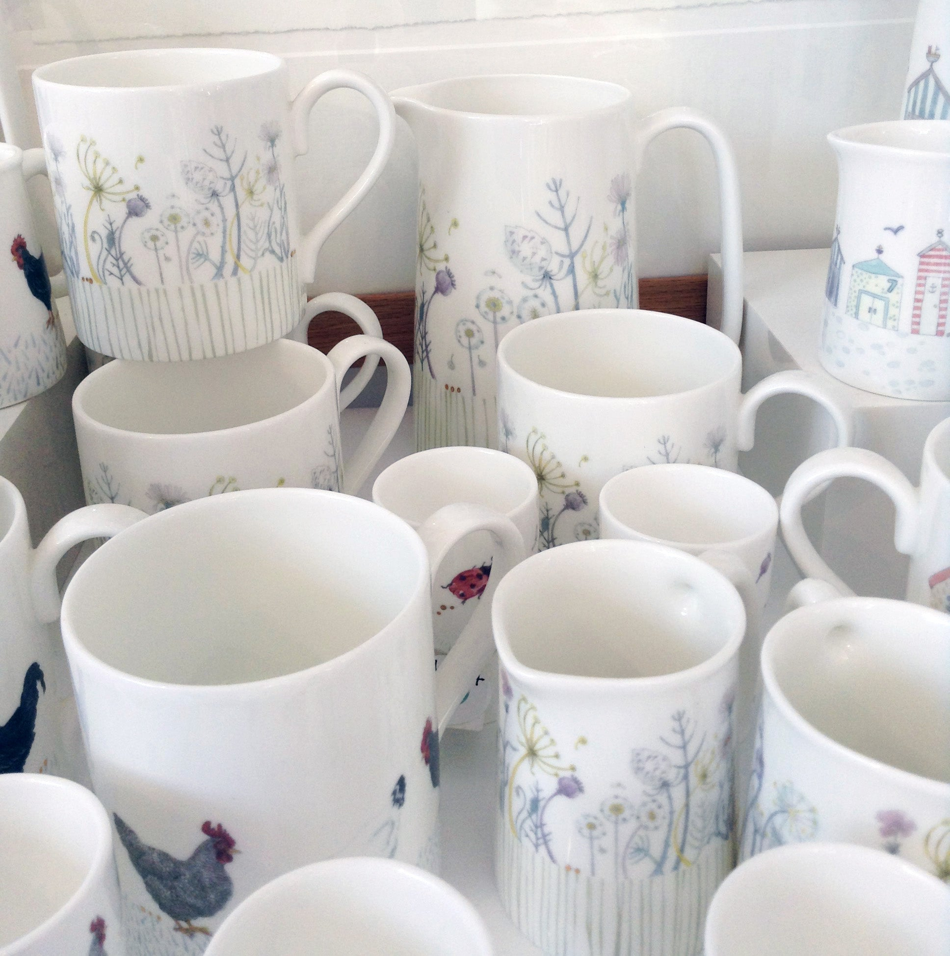 Bone China Tableware by Julia Davey W11JD44 ... & Bone China Tableware by Julia Davey W11JD44 - therobinsnestgallery