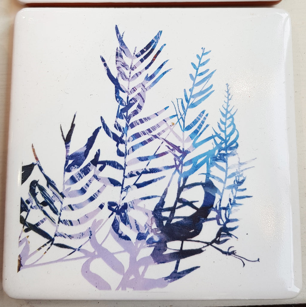 Ceramic Coaster By Justine Nettleton S55JN53