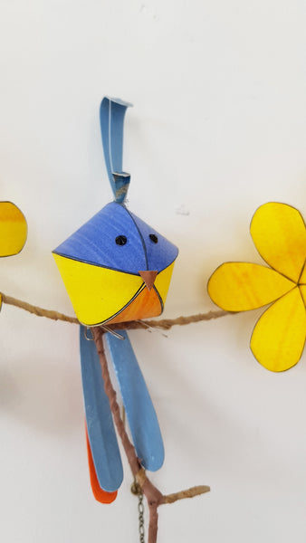 Hanging Paper Birds By Kaper S1KK29