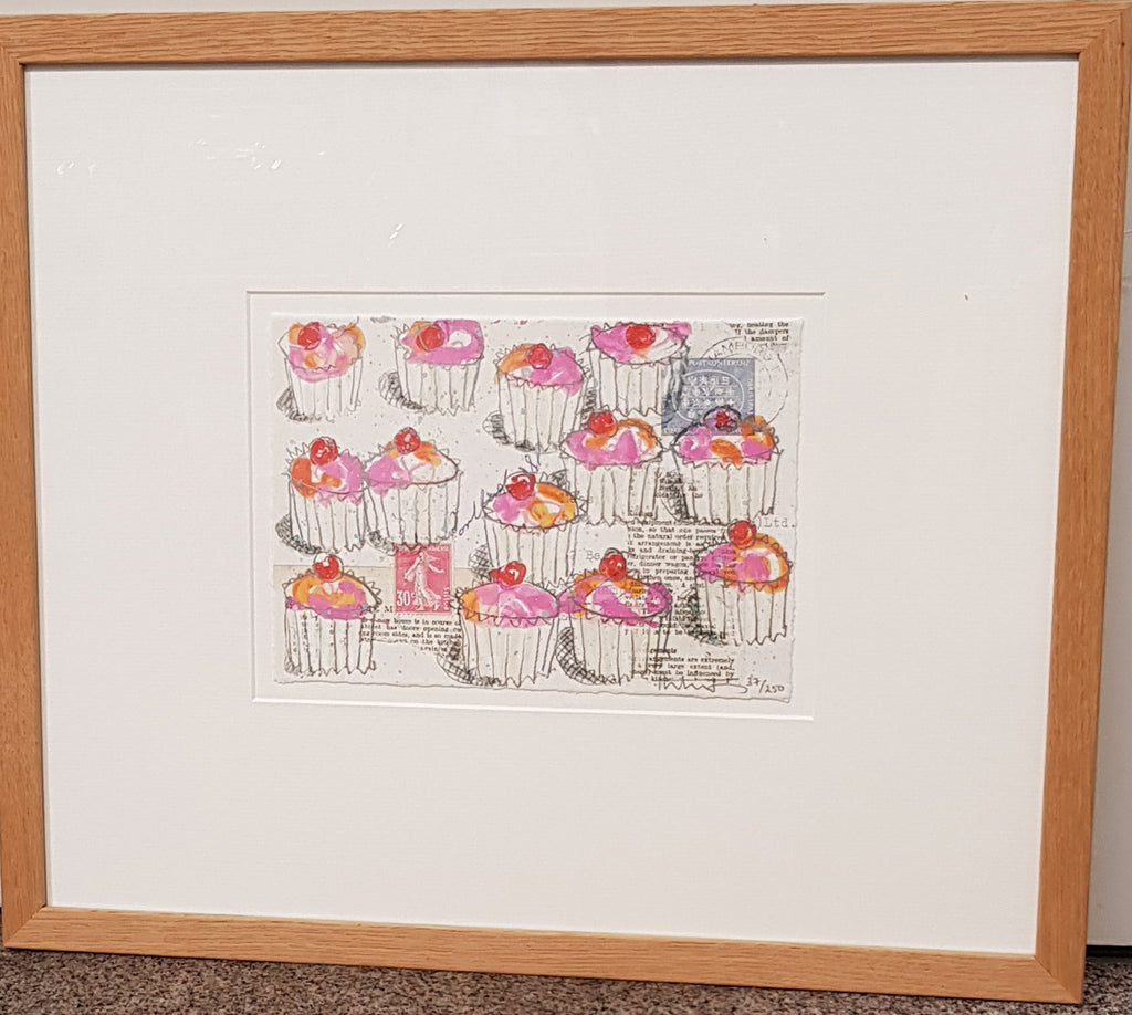 Framed Limited Edition Print By Kirsten Jones S12KJ32