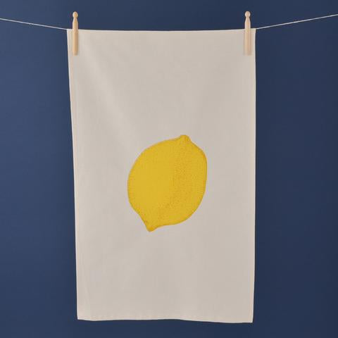 Hand Screen Printed Tea Towel By Lottie Day W39LD8