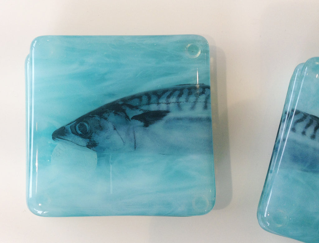 Handmade Glass Coaster By Anne Smith