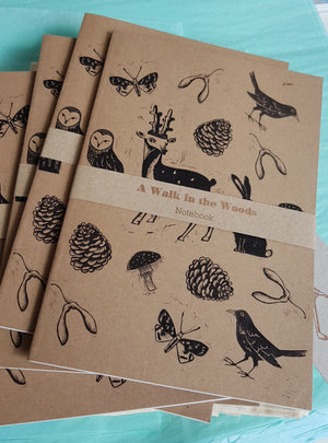 Hand Printed Notebook by Nell Smith S168NS7