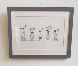 Limited Edition Screen Print By Ruth Allen S176RA7