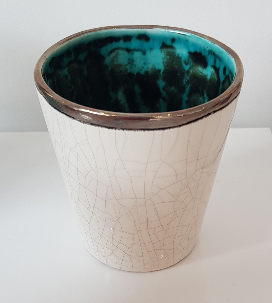Handmade Ceramic Small Beaker by Sophie Smith S38SS173