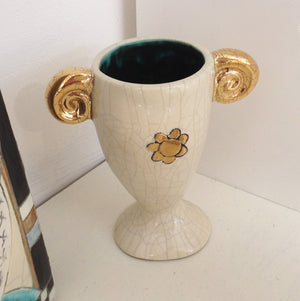 Handmade Ceramic Egg Cup by Sophie Smith S38SS125