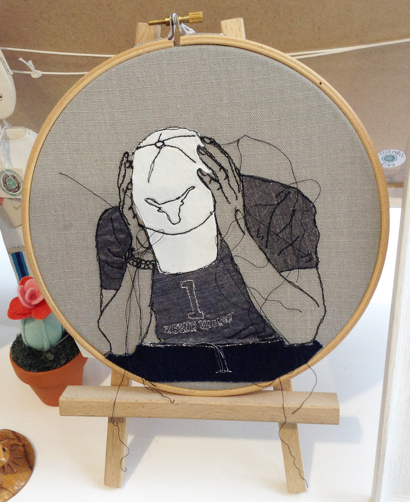 Free Motion Embroidery Hoop By Caroline Kirton S128CK3