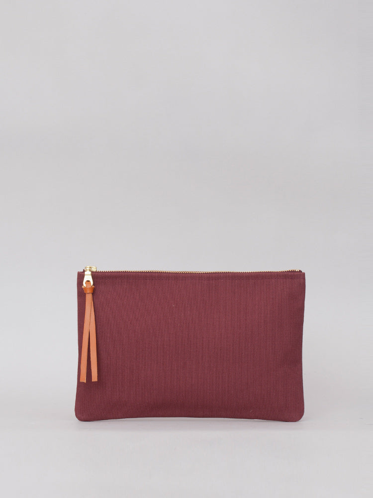 Medium Pouch - Aubergine